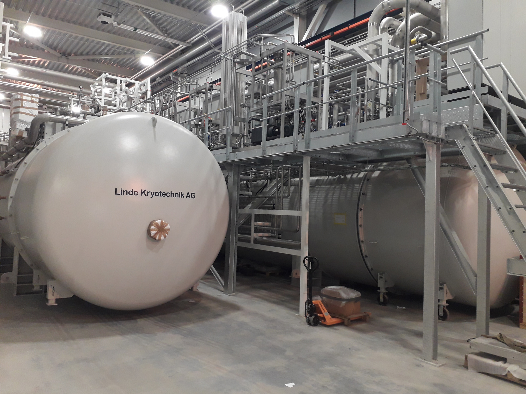 Cooling the giant neutron microscope   Linde US Engineering